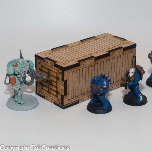 Shipping Container 40k Terrain - Suit Warhammer 40k / Infinity etc