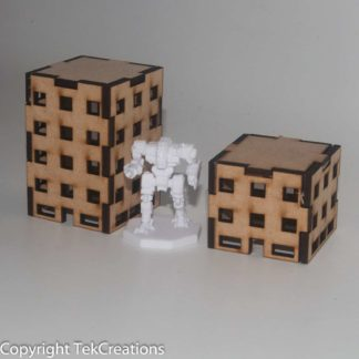 Battletech 6mm Office Buildings
